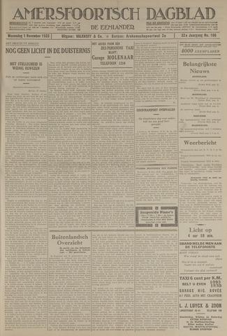 Amersfoortsch Dagblad / De Eemlander 1933-11-01