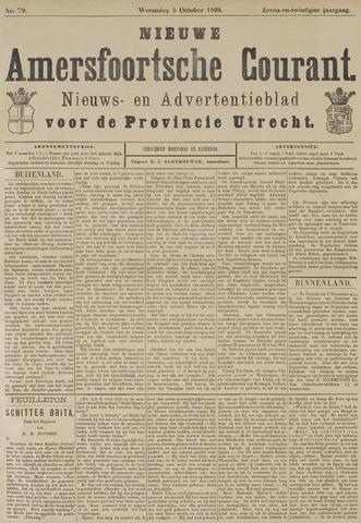 Nieuwe Amersfoortsche Courant 1898-10-05