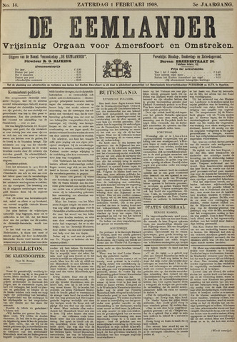 De Eemlander 1908-02-01
