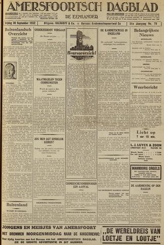 Amersfoortsch Dagblad / De Eemlander 1932-09-30