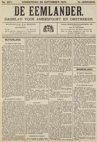 De Eemlander 1910-09-29