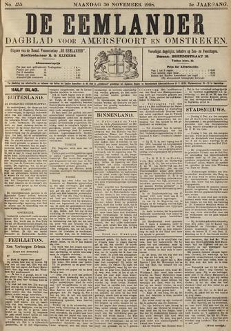 De Eemlander 1908-11-30