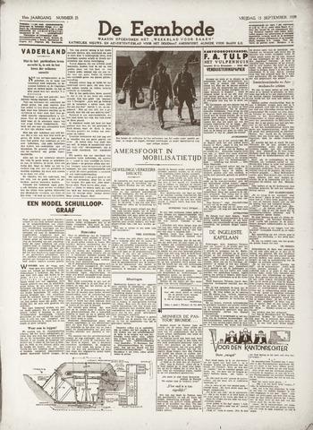 De Eembode 1939-09-15