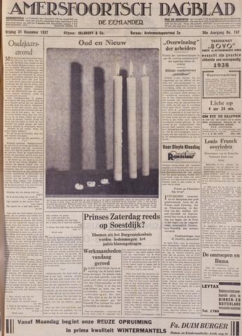 Amersfoortsch Dagblad / De Eemlander 1937-12-31