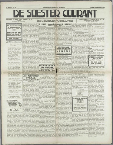 Soester Courant 1929-09-20