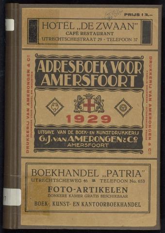 Adresboeken Amersfoort 1929
