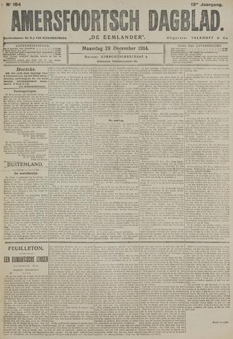 Amersfoortsch Dagblad / De Eemlander 1914-12-28