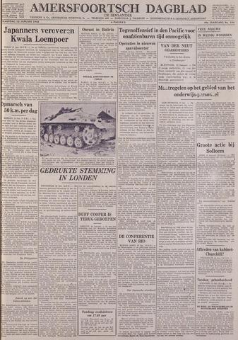 Amersfoortsch Dagblad / De Eemlander 1942-01-12