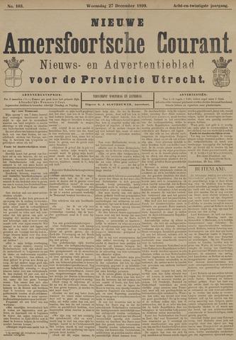 Nieuwe Amersfoortsche Courant 1899-12-27