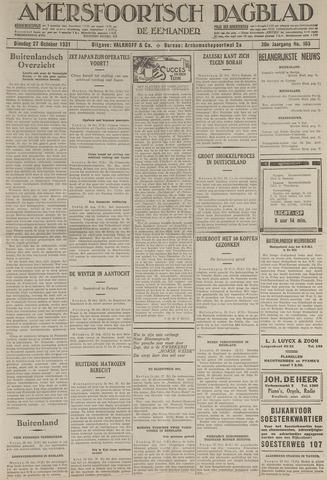 Amersfoortsch Dagblad / De Eemlander 1931-10-27