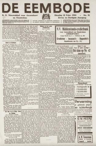 De Eembode 1924-02-12