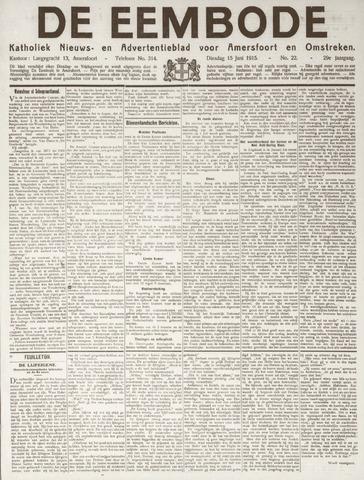 De Eembode 1915-06-15