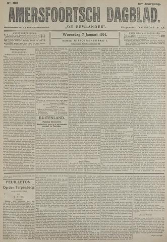 Amersfoortsch Dagblad / De Eemlander 1914-01-07