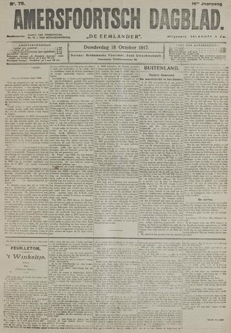 Amersfoortsch Dagblad / De Eemlander 1917-10-18
