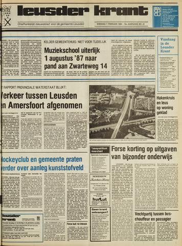 Leusder Krant 1984-02-07