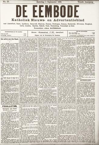 De Eembode 1896-09-05