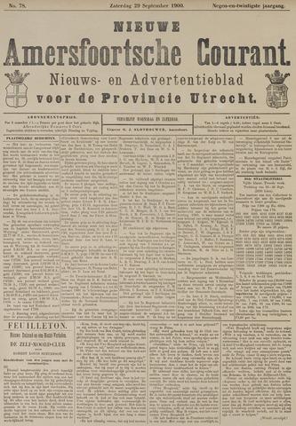 Nieuwe Amersfoortsche Courant 1900-09-29