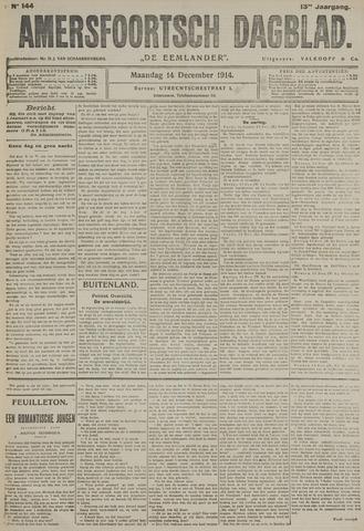 Amersfoortsch Dagblad / De Eemlander 1914-12-14
