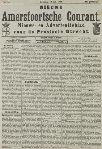 Nieuwe Amersfoortsche Courant 1920-07-10