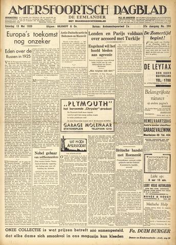 Amersfoortsch Dagblad / De Eemlander 1939-05-13
