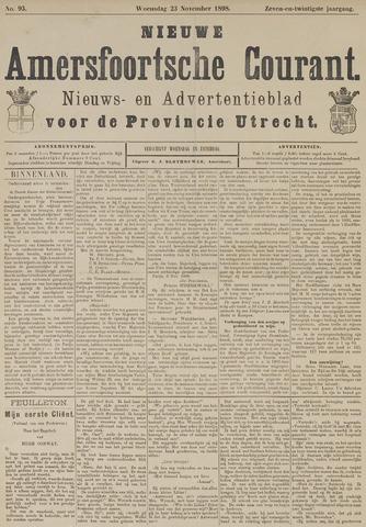 Nieuwe Amersfoortsche Courant 1898-11-23