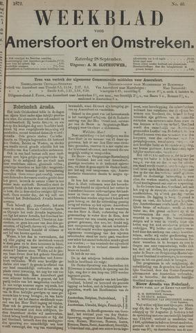 Weekblad voor Amersfoort en Omstreken 1872-09-28