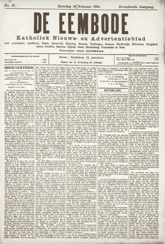 De Eembode 1904-02-20