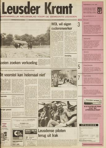Leusder Krant 1991-07-31