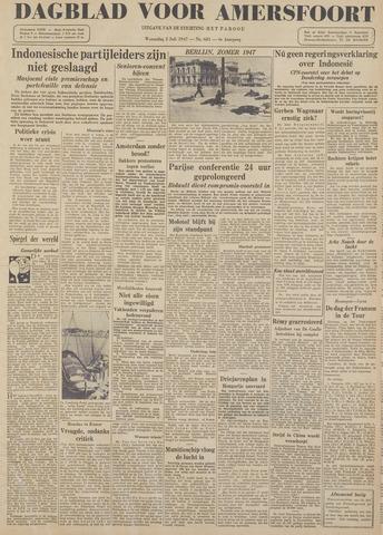 Dagblad voor Amersfoort 1947-07-02