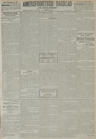Amersfoortsch Dagblad / De Eemlander 1922-04-06