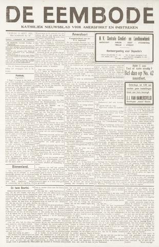 De Eembode 1921-09-16