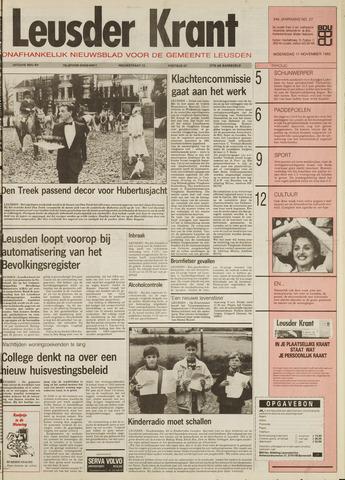 Leusder Krant 1992-11-11