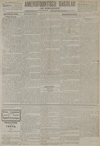 Amersfoortsch Dagblad / De Eemlander 1919-11-05