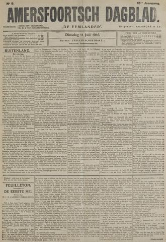 Amersfoortsch Dagblad / De Eemlander 1916-07-11