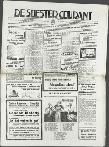 Soester Courant 1939-08-11