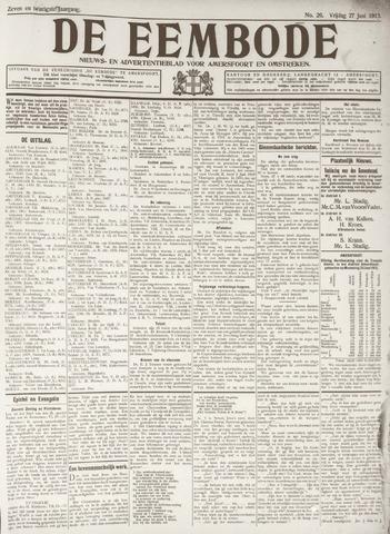 De Eembode 1913-06-27
