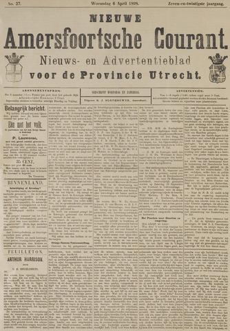 Nieuwe Amersfoortsche Courant 1898-04-06