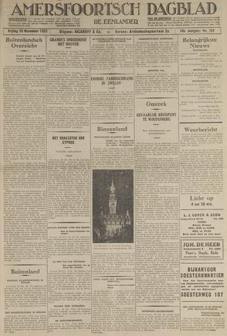 Amersfoortsch Dagblad / De Eemlander 1931-11-20