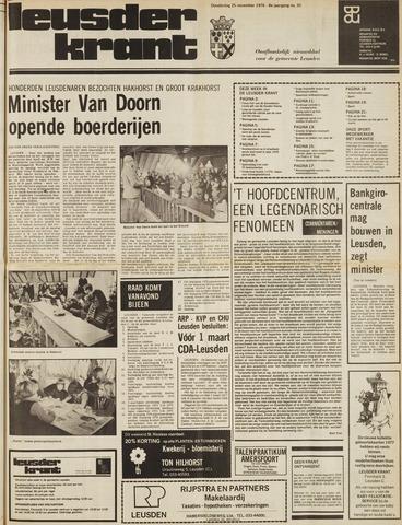Leusder Krant 1976-11-25