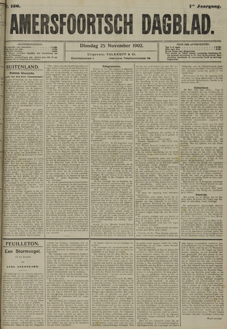 Amersfoortsch Dagblad 1902-11-25