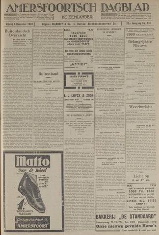 Amersfoortsch Dagblad / De Eemlander 1933-12-08