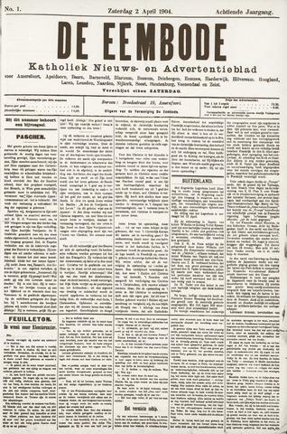 De Eembode 1904-04-02
