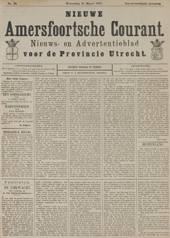 Nieuwe Amersfoortsche Courant 1897-03-31