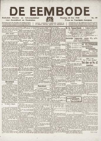 De Eembode 1928-10-23