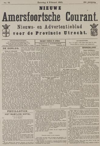 Nieuwe Amersfoortsche Courant 1915-02-06