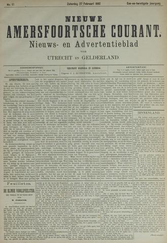 Nieuwe Amersfoortsche Courant 1892-02-27