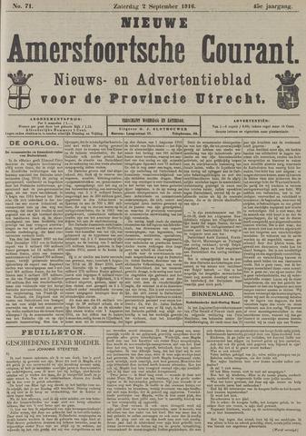 Nieuwe Amersfoortsche Courant 1916-09-02