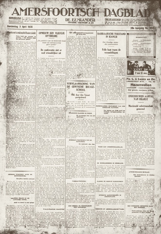 Amersfoortsch Dagblad / De Eemlander 1930-04-03