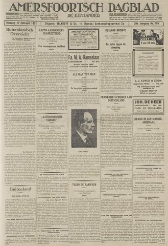 Amersfoortsch Dagblad / De Eemlander 1931-02-17
