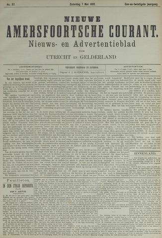 Nieuwe Amersfoortsche Courant 1892-05-07